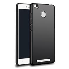Silikon Hülle Handyhülle Ultra Dünn Schutzhülle Silikon für Xiaomi Redmi 3X Schwarz