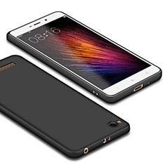 Silikon Hülle Handyhülle Ultra Dünn Schutzhülle Silikon für Xiaomi Redmi 4A Schwarz