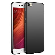 Silikon Hülle Handyhülle Ultra Dünn Schutzhülle Silikon für Xiaomi Redmi Note 5A Standard Edition Schwarz