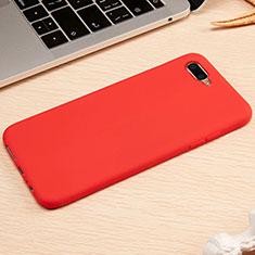 Silikon Hülle Handyhülle Ultra Dünn Schutzhülle Tasche A01 für Oppo K1 Rot