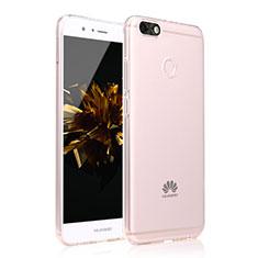 Silikon Hülle Handyhülle Ultra Dünn Schutzhülle Tasche Durchsichtig Farbverlauf für Huawei Enjoy 7 Klar