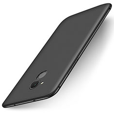 Silikon Hülle Handyhülle Ultra Dünn Schutzhülle Tasche S01 für Huawei Enjoy 6S Schwarz