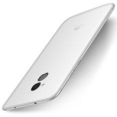 Silikon Hülle Handyhülle Ultra Dünn Schutzhülle Tasche S01 für Huawei Enjoy 6S Weiß