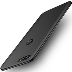 Silikon Hülle Handyhülle Ultra Dünn Schutzhülle Tasche S01 für Huawei Enjoy 8 Schwarz
