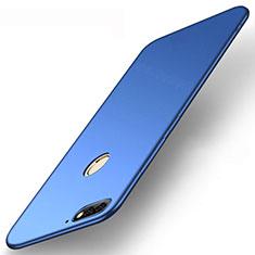 Silikon Hülle Handyhülle Ultra Dünn Schutzhülle Tasche S01 für Huawei Enjoy 8e Blau