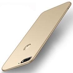 Silikon Hülle Handyhülle Ultra Dünn Schutzhülle Tasche S01 für Huawei Enjoy 8e Gold