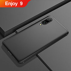 Silikon Hülle Handyhülle Ultra Dünn Schutzhülle Tasche S01 für Huawei Enjoy 9 Schwarz