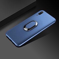 Silikon Hülle Handyhülle Ultra Dünn Schutzhülle Tasche S01 für Huawei Enjoy 9e Blau