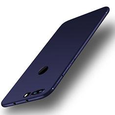 Silikon Hülle Handyhülle Ultra Dünn Schutzhülle Tasche S01 für Huawei Honor 8 Blau
