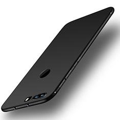 Silikon Hülle Handyhülle Ultra Dünn Schutzhülle Tasche S01 für Huawei Honor 8 Schwarz