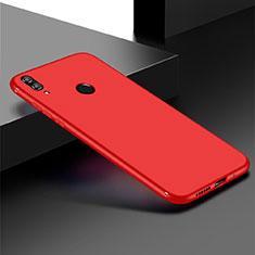 Silikon Hülle Handyhülle Ultra Dünn Schutzhülle Tasche S01 für Huawei Honor Play 8C Rot
