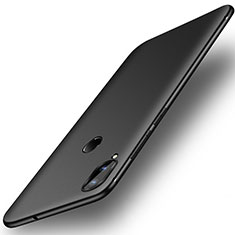 Silikon Hülle Handyhülle Ultra Dünn Schutzhülle Tasche S01 für Huawei Honor Play Schwarz