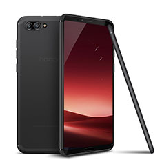 Silikon Hülle Handyhülle Ultra Dünn Schutzhülle Tasche S01 für Huawei Honor V10 Grau