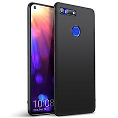 Silikon Hülle Handyhülle Ultra Dünn Schutzhülle Tasche S01 für Huawei Honor V20 Schwarz