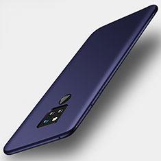 Silikon Hülle Handyhülle Ultra Dünn Schutzhülle Tasche S01 für Huawei Mate 20 X 5G Blau