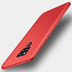 Silikon Hülle Handyhülle Ultra Dünn Schutzhülle Tasche S01 für Huawei Mate 20 X 5G Rot