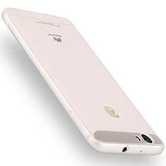 Silikon Hülle Handyhülle Ultra Dünn Schutzhülle Tasche S01 für Huawei Nova Klar