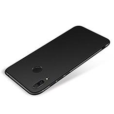 Silikon Hülle Handyhülle Ultra Dünn Schutzhülle Tasche S01 für Huawei P Smart+ Plus Schwarz