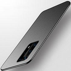 Silikon Hülle Handyhülle Ultra Dünn Schutzhülle Tasche S01 für Huawei P40 Pro+ Plus Schwarz