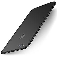 Silikon Hülle Handyhülle Ultra Dünn Schutzhülle Tasche S01 für Huawei P8 Lite (2017) Schwarz