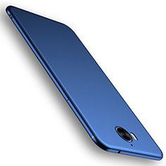 Silikon Hülle Handyhülle Ultra Dünn Schutzhülle Tasche S01 für Huawei Y6 (2017) Blau