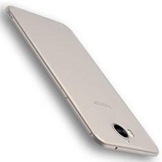 Silikon Hülle Handyhülle Ultra Dünn Schutzhülle Tasche S01 für Huawei Y6 (2017) Klar