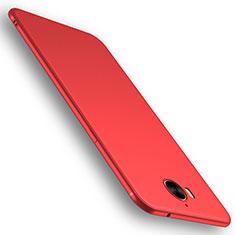 Silikon Hülle Handyhülle Ultra Dünn Schutzhülle Tasche S01 für Huawei Y6 (2017) Rot