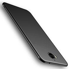 Silikon Hülle Handyhülle Ultra Dünn Schutzhülle Tasche S01 für Huawei Y6 (2017) Schwarz