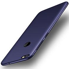 Silikon Hülle Handyhülle Ultra Dünn Schutzhülle Tasche S01 für Huawei Y6 Pro (2017) Blau