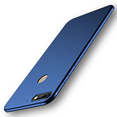 Silikon Hülle Handyhülle Ultra Dünn Schutzhülle Tasche S01 für Huawei Y7 (2018) Blau