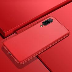 Silikon Hülle Handyhülle Ultra Dünn Schutzhülle Tasche S01 für Huawei Y7 Prime (2019) Rot