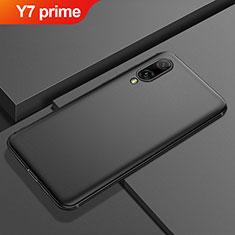 Silikon Hülle Handyhülle Ultra Dünn Schutzhülle Tasche S01 für Huawei Y7 Prime (2019) Schwarz