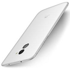 Silikon Hülle Handyhülle Ultra Dünn Schutzhülle Tasche S01 für Huawei Y7 Prime Weiß
