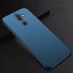 Silikon Hülle Handyhülle Ultra Dünn Schutzhülle Tasche S01 für Nokia 7 Plus Blau