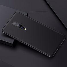 Silikon Hülle Handyhülle Ultra Dünn Schutzhülle Tasche S01 für OnePlus 7 Pro Schwarz