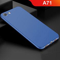 Silikon Hülle Handyhülle Ultra Dünn Schutzhülle Tasche S01 für Oppo A71 Blau