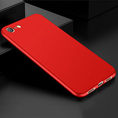 Silikon Hülle Handyhülle Ultra Dünn Schutzhülle Tasche S01 für Oppo A71 Rot