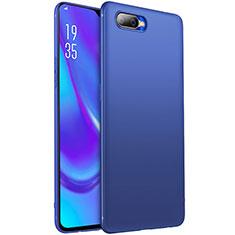 Silikon Hülle Handyhülle Ultra Dünn Schutzhülle Tasche S01 für Oppo K1 Blau