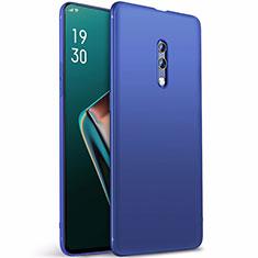 Silikon Hülle Handyhülle Ultra Dünn Schutzhülle Tasche S01 für Oppo Realme X Blau