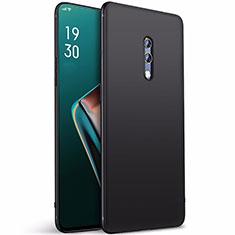 Silikon Hülle Handyhülle Ultra Dünn Schutzhülle Tasche S01 für Oppo Realme X Schwarz