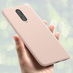 Silikon Hülle Handyhülle Ultra Dünn Schutzhülle Tasche S01 für Oppo RX17 Pro Rosegold