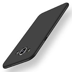 Silikon Hülle Handyhülle Ultra Dünn Schutzhülle Tasche S01 für Samsung Galaxy A5 Duos SM-500F Schwarz