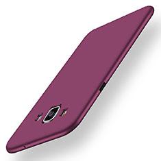 Silikon Hülle Handyhülle Ultra Dünn Schutzhülle Tasche S01 für Samsung Galaxy A5 SM-500F Violett