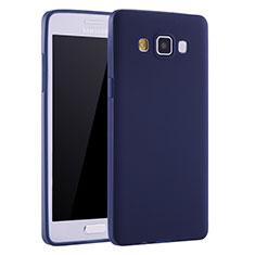 Silikon Hülle Handyhülle Ultra Dünn Schutzhülle Tasche S01 für Samsung Galaxy A7 SM-A700 Blau