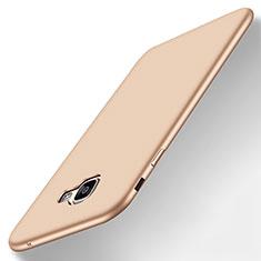 Silikon Hülle Handyhülle Ultra Dünn Schutzhülle Tasche S01 für Samsung Galaxy A8 (2016) A8100 A810F Gold