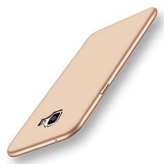 Silikon Hülle Handyhülle Ultra Dünn Schutzhülle Tasche S01 für Samsung Galaxy A9 Pro (2016) SM-A9100 Gold