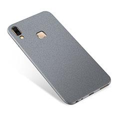 Silikon Hülle Handyhülle Ultra Dünn Schutzhülle Tasche S01 für Samsung Galaxy A9 Star SM-G8850 Grau