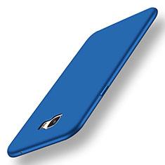Silikon Hülle Handyhülle Ultra Dünn Schutzhülle Tasche S01 für Samsung Galaxy C7 Pro C7010 Blau