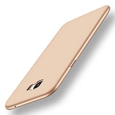 Silikon Hülle Handyhülle Ultra Dünn Schutzhülle Tasche S01 für Samsung Galaxy C7 Pro C7010 Gold