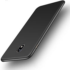 Silikon Hülle Handyhülle Ultra Dünn Schutzhülle Tasche S01 für Samsung Galaxy J3 Pro (2017) Schwarz